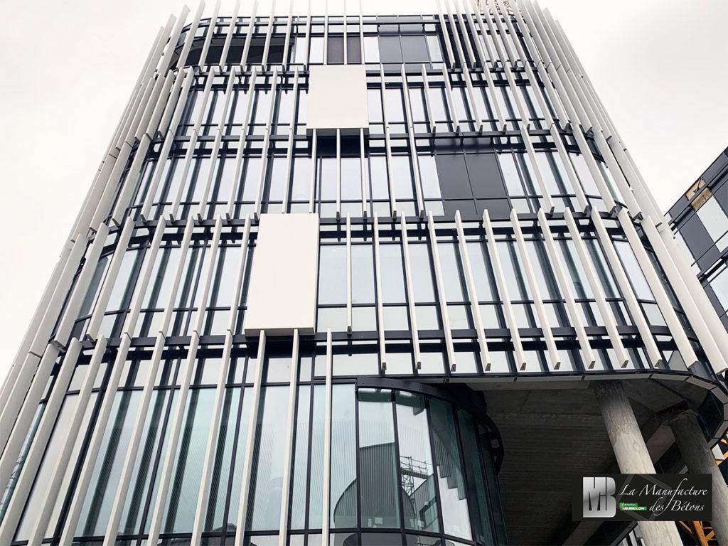 Facade beton acrhitectonique BFUP